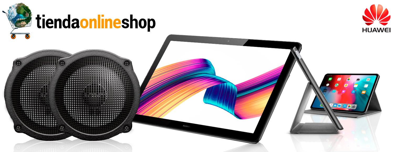 grafica-sonido-altavoces-de-tablet-huawei-media-pad-T5-10.1-full-hd--perfil-tienda-online-shop