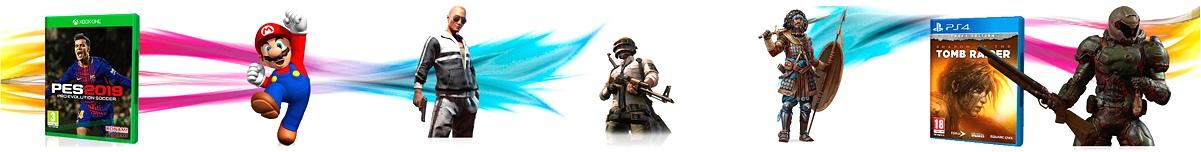 grafica titulo mundo game tienda online shop
