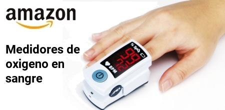 Medidores de oxigeno en sangre